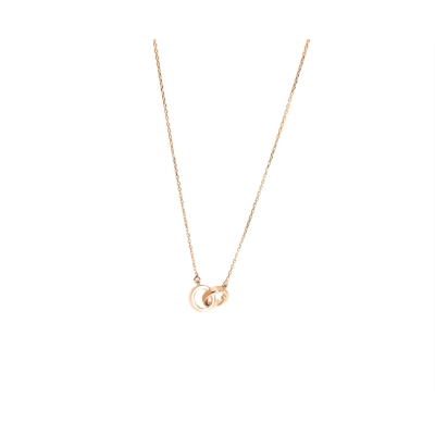 Collier Menottes Or Rose